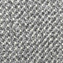 Boucle Wool Blend Tweed Fabric in Grey and Cream 150cm Wide